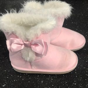 Toddler Pink Boots